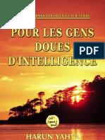 POUR LES GENS DOUÉS D'INTELLIGENCE
