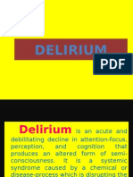Delirium Power Point Presentation
