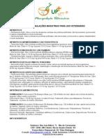 Guia de Formulações Magistrais Para Uso Veterinário