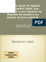Benjamin Libet - Defesa Mestrado