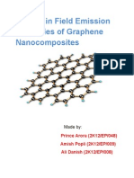 field emission properties of graphene
