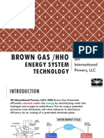 Brown Gas PP Presentation New