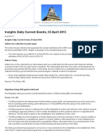 Insights Daily Current Events, 03 April 2015 _ INSIGHTS