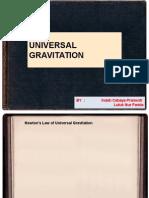 13. Universal Gravitation