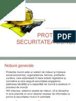 Protecția și securitatea muncii