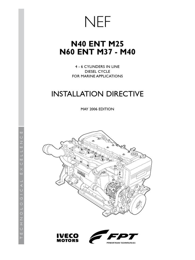 InstallationDirective N40 ENT M25 N60 ENT M37 40