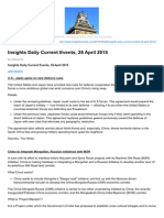 Insightsonindia.com-Insights Daily Current Events 28 April 2015