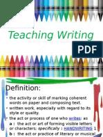 teaching writing esl
