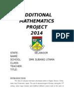 Add maths folio 2014 blah
