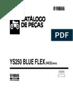 Catálogo de peças  Fazer YS250 BlueFlex
