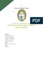 Telecentros Comunicados Por Enlace Satelital