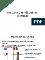 História Das Máquinas Térmicas