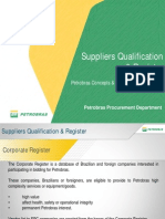 Petrobras Suppliers Qualification Registe