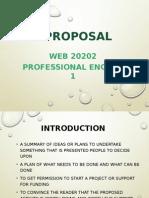 Proposal Writing( proposal)