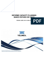 Capacity Planning Bech Abril-Junio2010
