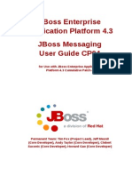 JBoss Messaging User Guide CP04