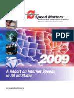 CWA Report on Internet Speeds 2009