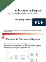 1.3 Semana Uno - Modelo de Procesos de Negocio (1)