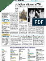 Urbino, tavola rotonda su Bramante - Il Resto del Carlino dell'11 maggio 2015