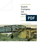 Dutch Compound Verbs