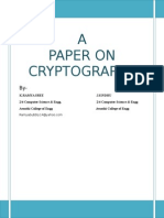 Cryptography 1
