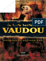 Le Livre Secret Du Vaudou - 2e Édition