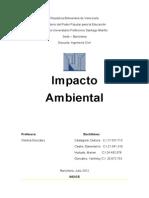Impacto Ambiental Trabajo Listo