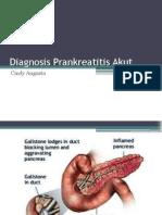 Diagnosis Pankreatitis Akut