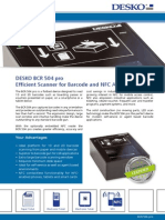 Brochure DESKO BCR 504 Pro