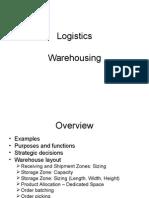 3 Warehousing