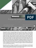 Q1 FTP 2015 Presentation