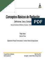 Conceptos Basicos de Radiacion