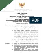 Qanun Nomor 1Tahun 2014 tentang RTRW Kota Lhokseumawe Tahun 2012-2032.doc