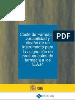 COSTO GENERAL FARMACIAS