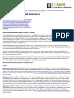 UC Davis Koret Shelter Medicine Program - Internal Parasite Control Guidelines - 2014-10-29