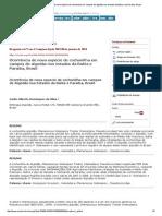 Bragantia - Ocorrência de Nova Espécie de Cochonilha Em Campos de Algodão Nos Estados Da Bahia e Da Paraíba, Brasil