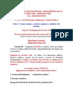 Estudio Sobre Aplicación Del Reglamento de La Ley 30057 Del Servicio Civil MAGALY