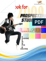 Guidebook for Prospective Students 2009