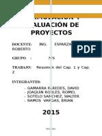 Grupo N° 3 - Form y Evalu de Proyectos.