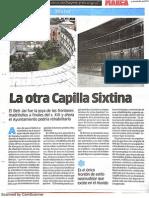 La otra Capilla Sixtina (MARCA - 12/05/2015)