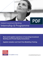 Global Investment Banking Internship & Programme