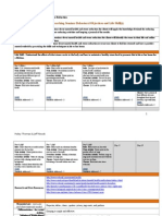 health promotion seminar plan