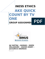 Group Project - TV One