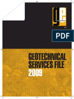 Geotechnical Services File 2009