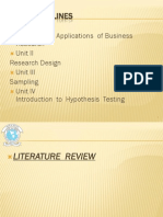 Reviewing of Literature