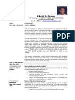 Albert Ramos CV - Information Technology