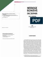 Dictionar de Mitologie Romaneasca (Cu Planse) -2013
