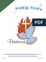 May 12, 2015 The Fellowship News