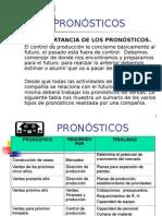 PRONÓSTICOS DE VENTA