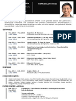 Curriculum Vitae - Nicolas Correa